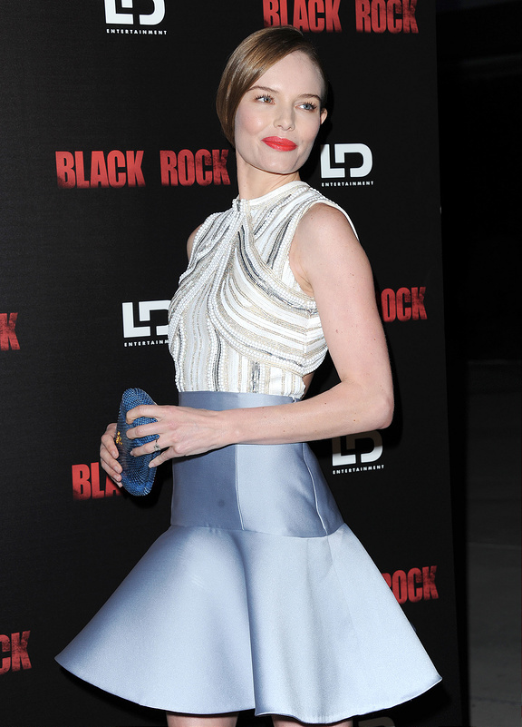 Kate Bosworth, Ed Helms and Krysten Ritter attend Black Rock Screening