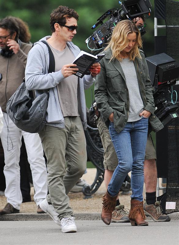 Kate Hudson and James Franco do new movie