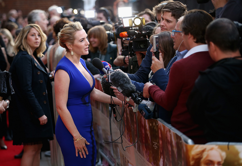 UK premiere of 'A Little Chaos'