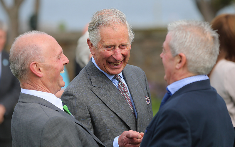 The Prince of Wales and Duchess of Cornwall Visit Ireland - Day Two