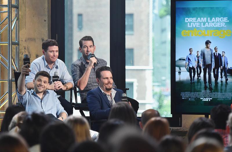 AOL BUILD Speaker Series: The Cast Of Film 'Entourage'