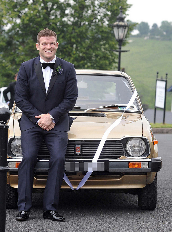 Aoife Cogan and Gordon D'Arcy wed in Monaghan