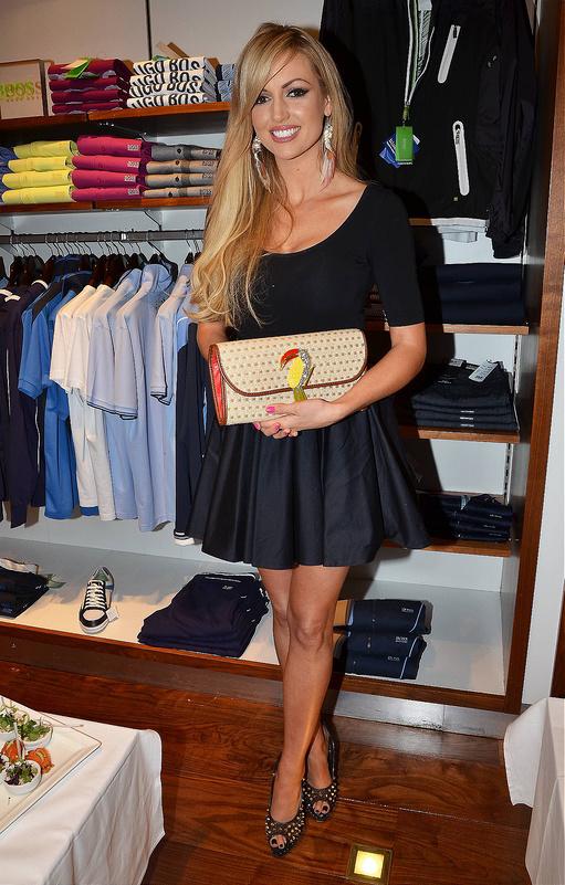 Rosanna Davidson In Clothes - Novel!