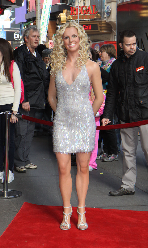 New Britney Spears wax figure is unveiled