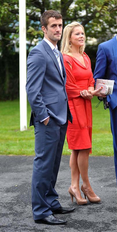 The wedding of Irish footballer Glenn Whelan to Karen Byrne