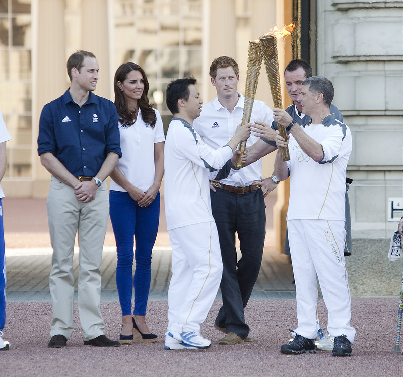 Kate Middleton and Prince William celebrate Olympics
