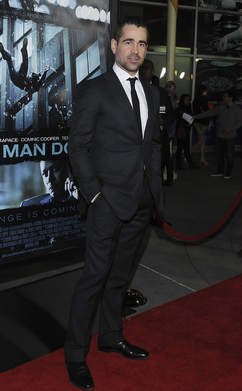 Colin Farrell at premiere of FilmDistrict's 'Dead Man Down'