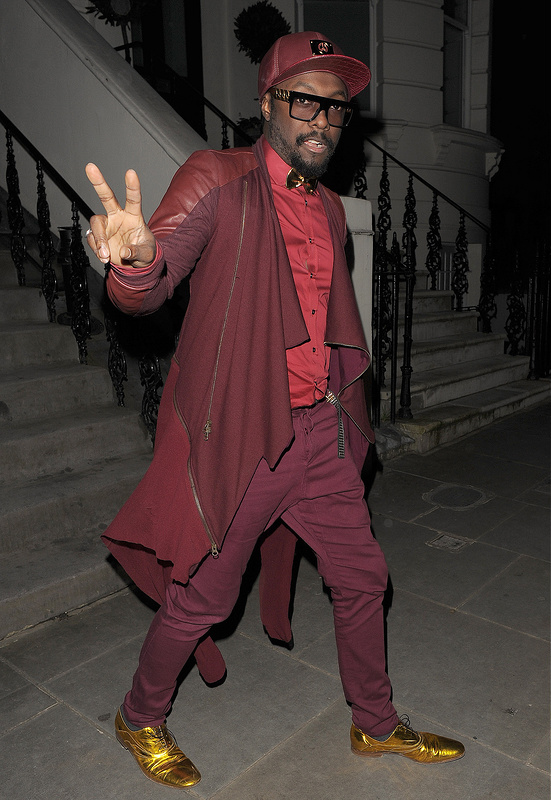 What do you think of will.i.am's shoes?