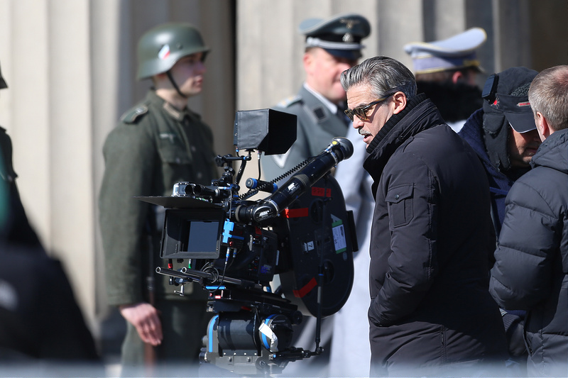 Set of the movie The Monuments Men