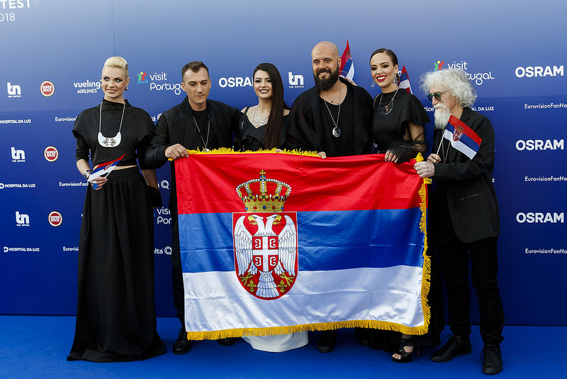 Eurovision 2018 Blue Carpet Opening Ceremony