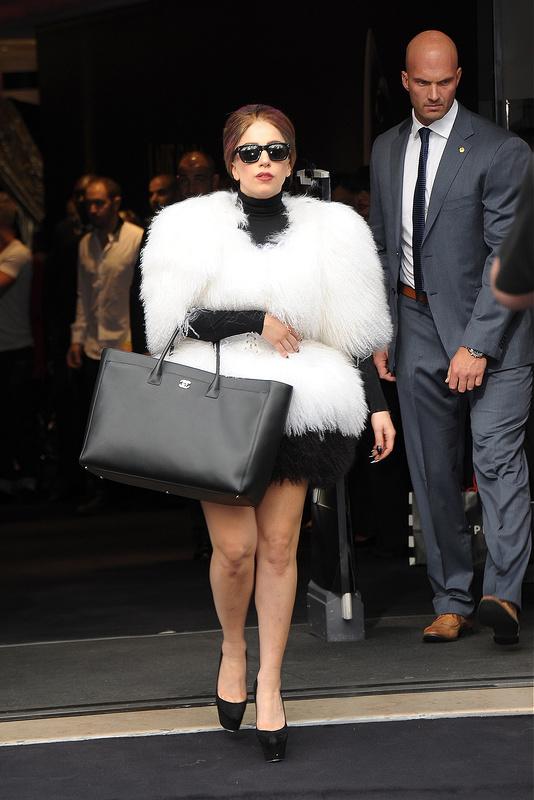 Lady Gaga at Champs Elysee
