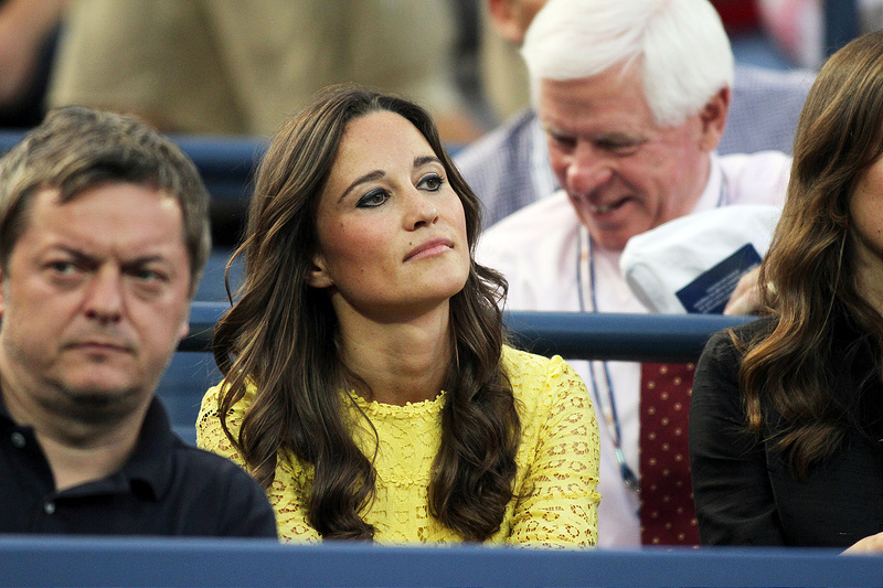 Pippa MIddleton In A Yellow Dress