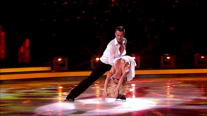 Dancing On Ice with Pamela Anderson