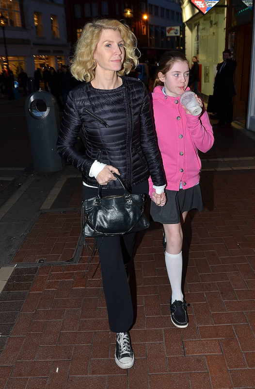 Fergie, Laura, Kim and more celebs heading home from a night out