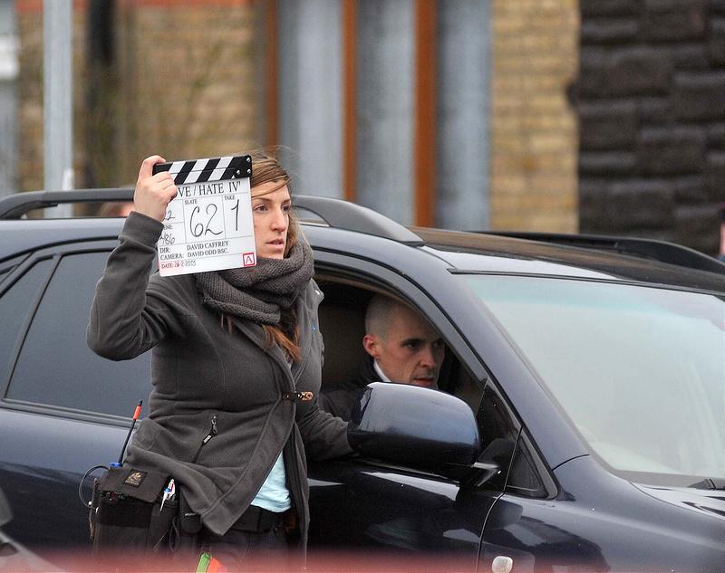 RTE drama 'Love/Hate' season 4 filming scenes