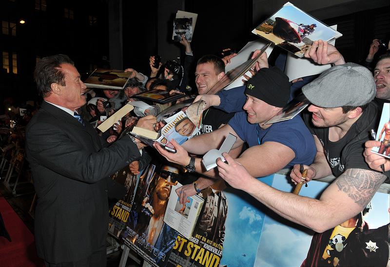 The Last Stand UK Film Premiere
