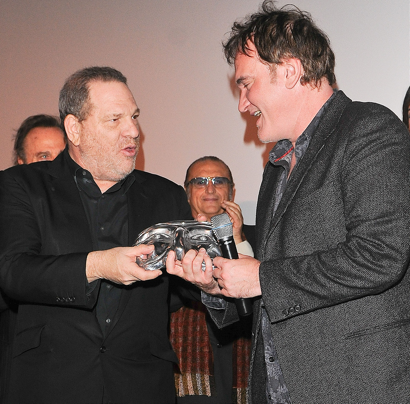 Quentin Tarantino is honored with the Screenwriter of the Year Award