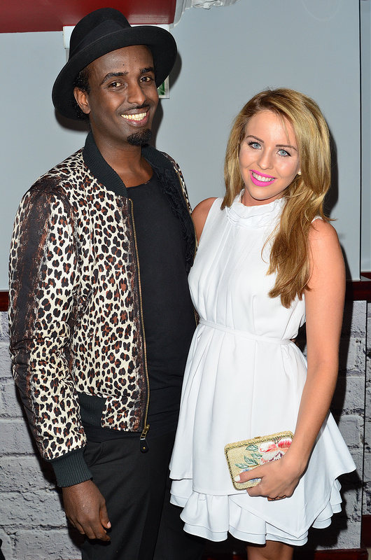Spencer Matthews, Lydia Bright and more at launch party