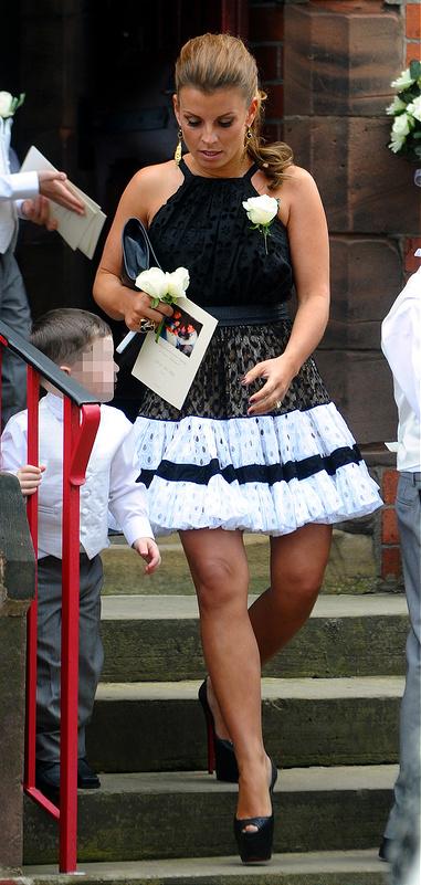 The wedding of Wayne Rooney's cousin