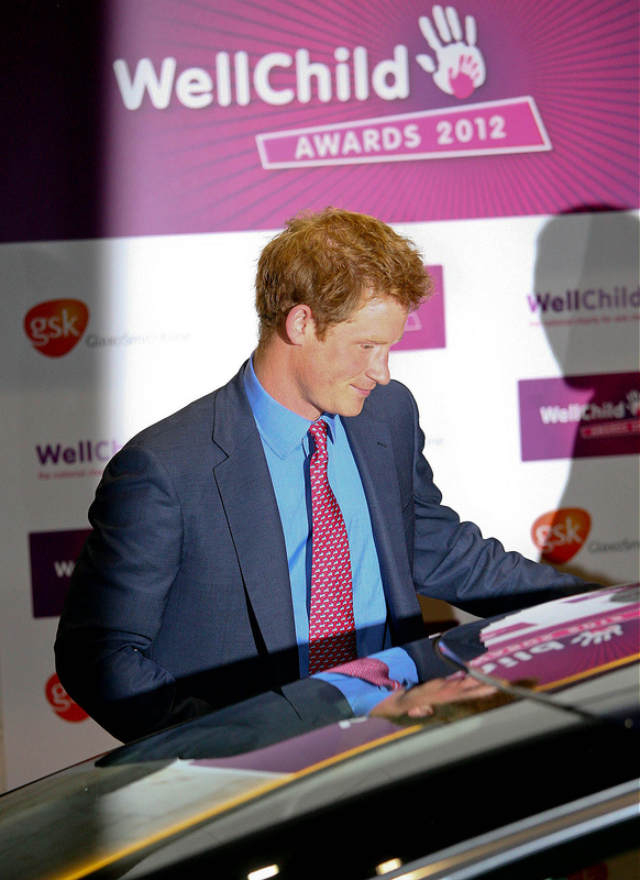 Prince Harry at The WellChild Awards