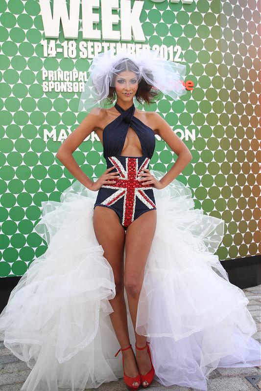 London Fashion Week - Alexa Chung, Olivia Palermo and catwalk shows
