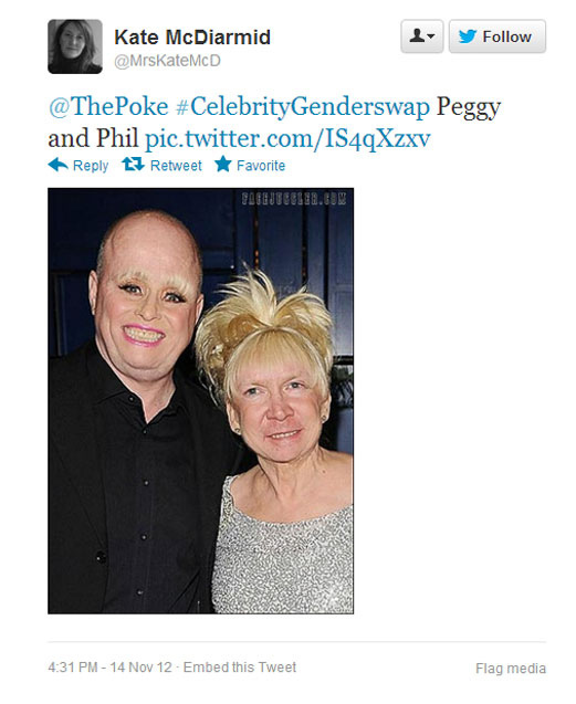 #CelebrityGenderSwap