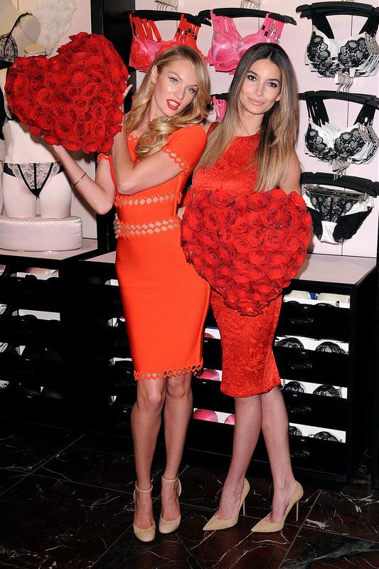 Victoria's Secret Angels share some love