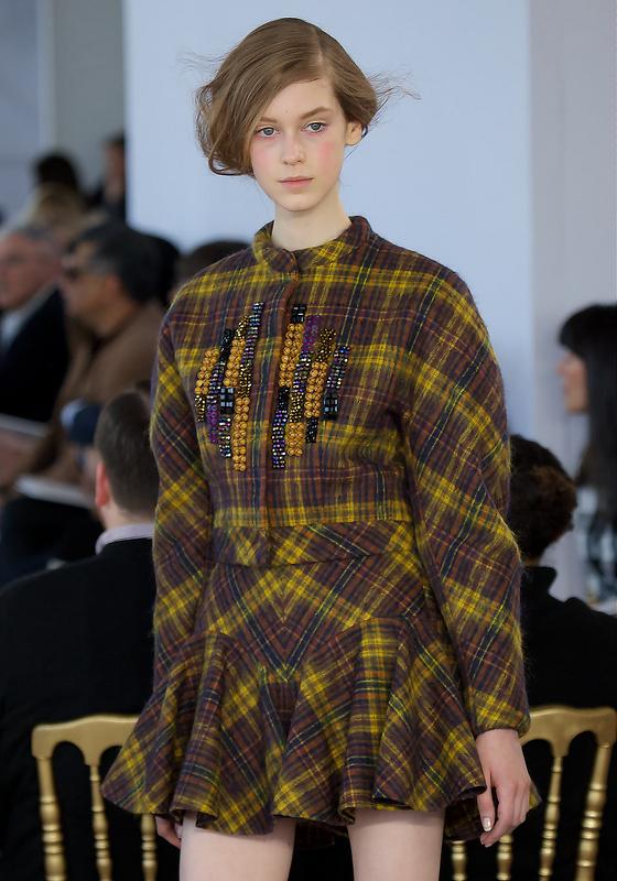 New York Fashion Week - Delpozo Front Row