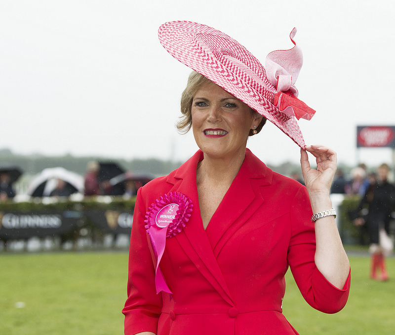 Best Dressed at the Galway Races Summer Festival