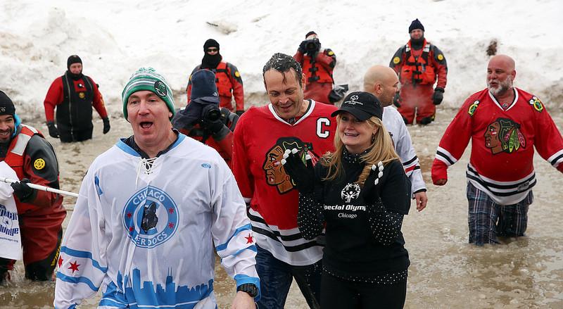 Chicago Polar Plunge 2015