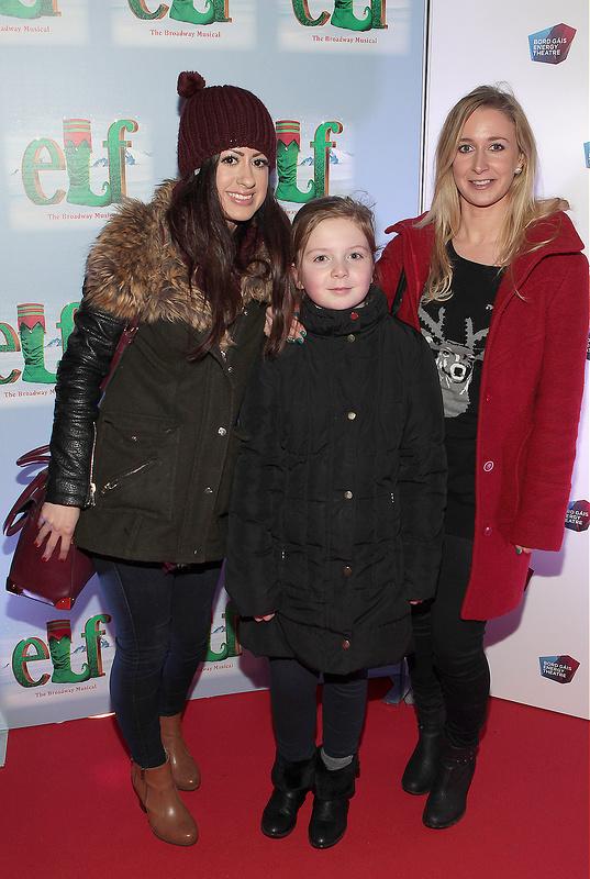 European Premiere of Elf the Musical at The Bord Gais Energy Theatre