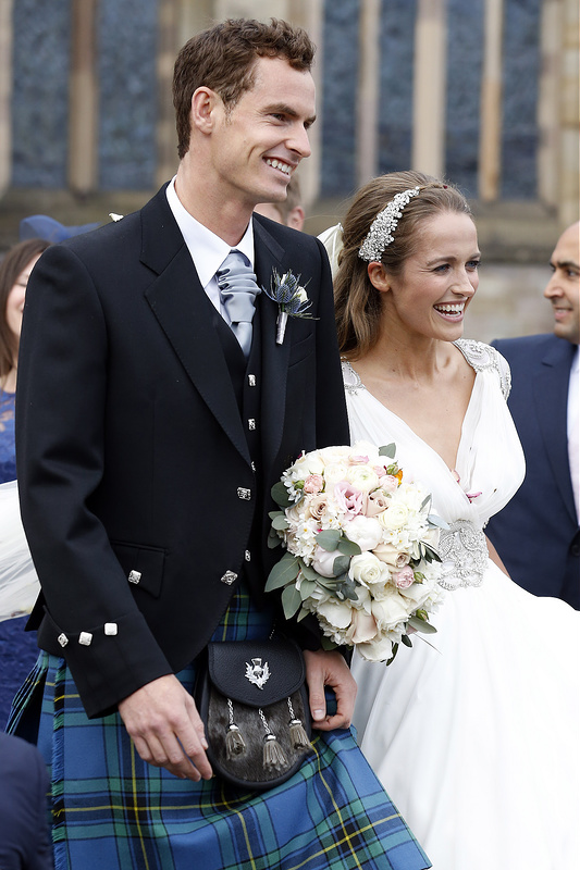 Andy Murray and Kim Sears' Wedding