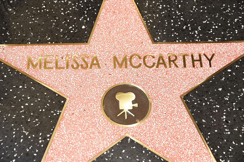 Melissa McCarthy honored with a star on the Hollywood Walk Of Fame