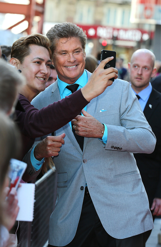 UK screening of 'Hoff The Record'