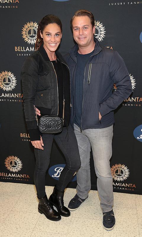 Coronation Street stars Tina O'Brien and Samia Longchambon at the Bellamianta Tan Launch