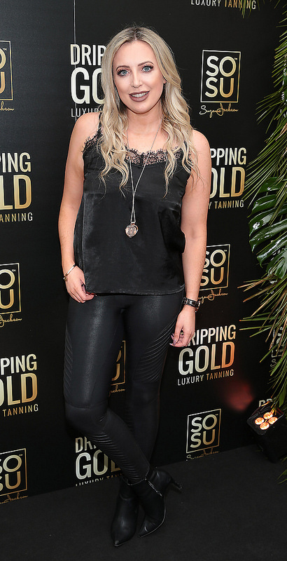 Launch of Suzanne Jackson's SOSU Dripping Gold Luxury Tanning Range