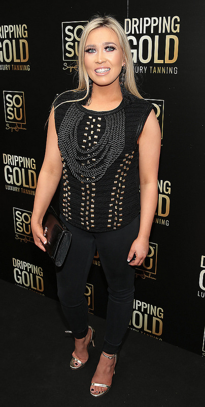 Launch of Suzanne Jackson's SOSU Dripping Gold Luxury Tanning Range