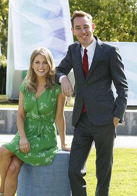 RTE stars celebrate the new television schedule