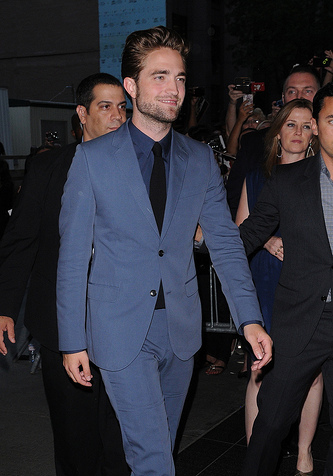 R-Patz attends New York Premiere of 'Cosmopolis'