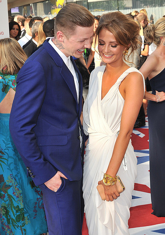 Professor Green and Millie get engaged