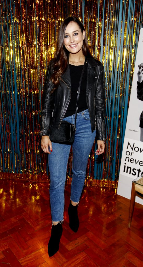 Rachel Purcel pictured at the instax Christmas party that showcased the perfect selection of must-have gifts. Picture Andres Poveda
