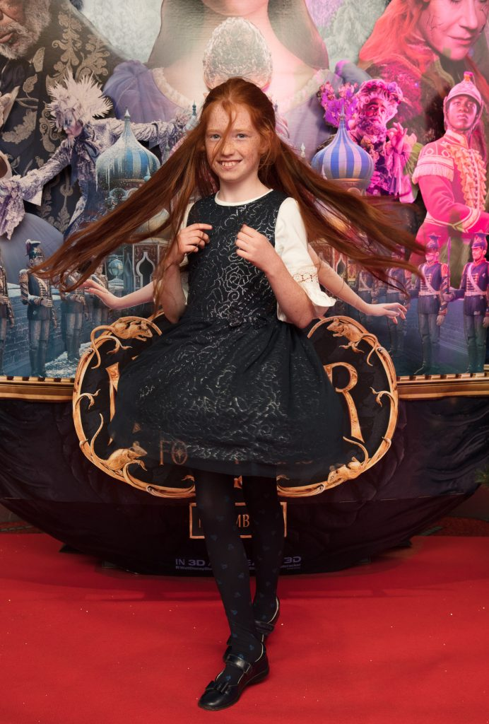 Áine Byrne at the special preview screening of Disney's 'The Nutcracker & the Four Realms' in Movies at Dundrum. Photo: Anthony Woods.