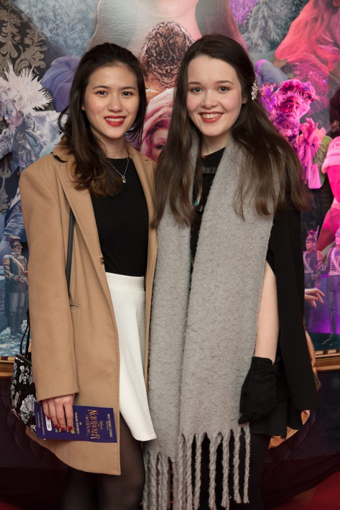 pictured at the special preview screening of Disney's 'The Nutcracker & the Four Realms' in Movies at Dundrum. In cinemas nationwide from Nov 2nd. Photo: Anthony Woods.