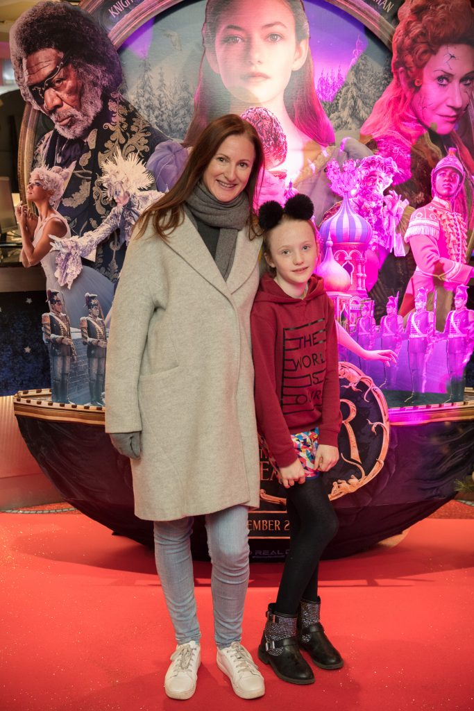 Amanda & Emily Woods at the special preview screening of Disney's 'The Nutcracker & the Four Realms' in Movies at Dundrum. Photo: Anthony Woods.