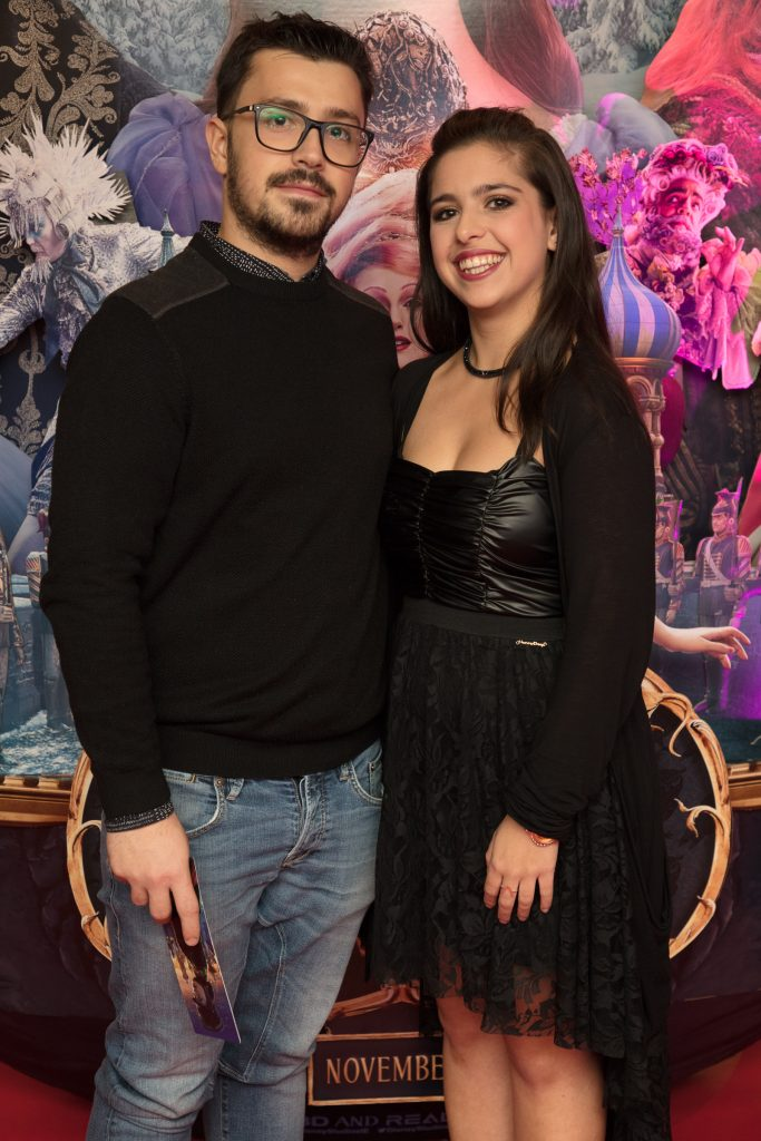 The special preview screening of Disney's 'The Nutcracker & the Four Realms' in Movies at Dundrum. Photo: Anthony Woods.