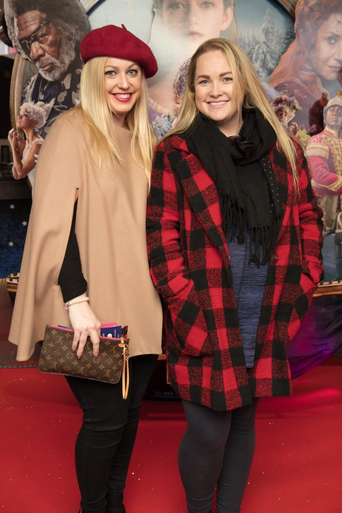 Mary Cannon & Jane Walker at the special preview screening of Disney's 'The Nutcracker & the Four Realms' in Movies at Dundrum. Photo: Anthony Woods.