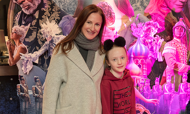 Amanda & Emily Woods pictured at the special preview screening of Disney's 'The Nutcracker & the Four Realms' in Movies at Dundrum. In cinemas nationwide from Nov 2nd. Photo: Anthony Woods.