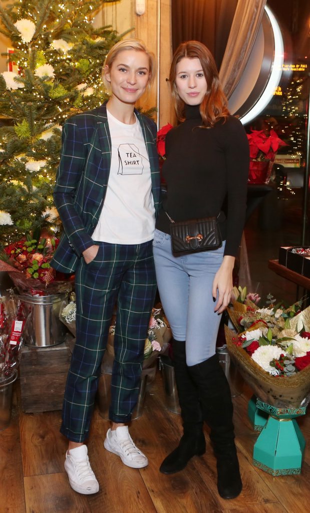 Pictured at the Amazing Aldi Christmas Showcase 2018 is Teo Sutra and  Joanne Northey Photo: Leon Farrell/Photocall Ireland