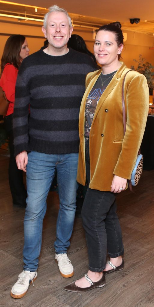 Pictured at the Amazing Aldi Christmas Showcase 2018 is anthony remedy and Corina Gaffey  Photo: Leon Farrell/Photocall Ireland
