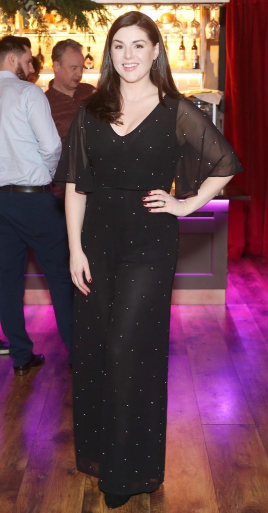 Pictured at the Amazing Aldi Christmas Showcase 2018 is sile seoige . Photo: Leon Farrell/Photocall Ireland